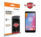 Dafoni Lenovo K6 Note Slim Triple Shield Ekran Koruyucu