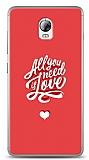 Lenovo Vibe P1 Need Love Kılıf
