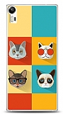Lenovo Vibe Shot Four Cats Kılıf