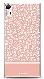 Dafoni Lenovo Vibe Shot Pink Flower Kılıf