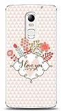Dafoni Lenovo Vibe X3 I Love You Kılıf