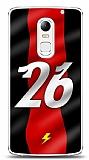 Lenovo Vibe X3 Kırmızı Şimşekler Kılıf