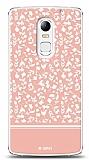 Dafoni Lenovo Vibe X3 Pink Flower Kılıf