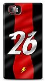 Lenovo Vibe Z2 Pro Kırmızı Şimşekler Kılıf