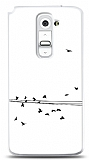 LG G2 Flying Birds Kılıf