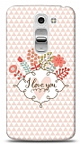LG G2 Mini I Love You Kılıf