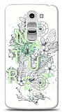 LG G2 Mini Nature Flower Kılıf