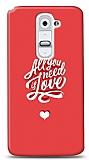 Dafoni LG G2 Need Love K�l�f