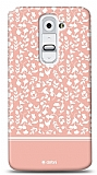 Dafoni LG G2 Pink Flower K�l�f