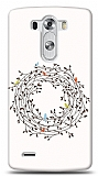 LG G3 Bird Circle Small Kılıf