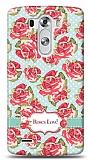 LG G3 Roses Love Kılıf