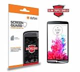 Dafoni LG G3 Slim Triple Shield Ekran Koruyucu