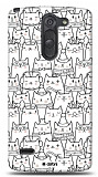 Dafoni LG G3 Stylus Cats K�l�f