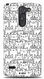 LG G3 Stylus Cats Kılıf