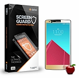 Dafoni LG G4 Tempered Glass Ayna Gold Cam Ekran Koruyucu