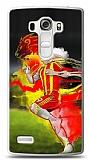 LG G4 Beat Sarı Kırmızı Kılıf