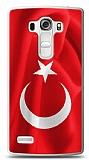LG G4 Beat Türk Bayrağı Kılıf