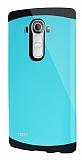 Dafoni LG G4 Slim Power Ultra Koruma Su Yeşili Kılıf