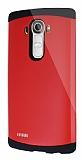 Dafoni LG G4 Slim Power Ultra Koruma Kırmızı Kılıf
