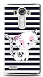 LG G4 Stripe Cat Kılıf