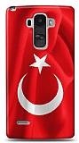 LG G4 Stylus Türk Bayrağı Kılıf