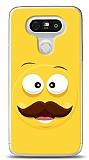 LG G5 Bıyıklı Emoji Kılıf