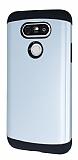 Dafoni LG G5 Slim Power Ultra Koruma Silver Kılıf