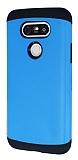 Dafoni LG G5 Slim Power Ultra Koruma Mavi Kılıf