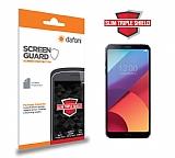 Dafoni LG G6 Slim Triple Shield Ekran Koruyucu