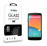 Eiroo LG Google Nexus 5 Tempered Glass Cam Ekran Koruyucu