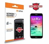 Dafoni LG K10 2017 Slim Triple Shield Ekran Koruyucu