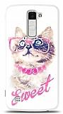 Dafoni LG K10 Sweet Cat K�l�f