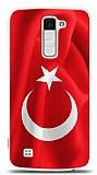LG K10 Türk Bayrağı Kılıf