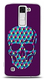 LG K8 Color Skull Purple Kılıf