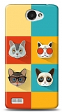 LG L Bello 2 Four Cats Kılıf