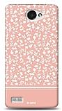 Dafoni LG L Bello 2 Pink Flower Kılıf
