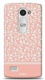 LG Leon Pink Flower Kılıf