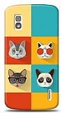 LG Nexus 4 Four Cats Kılıf