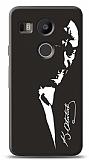 LG Nexus 5X Atatürk Silüet Kılıf