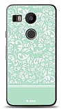 Dafoni LG Nexus 5X Green Flower K�l�f