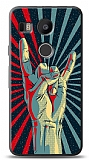 Dafoni LG Nexus 5X Metal Sign K�l�f