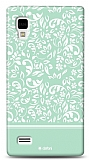 Dafoni LG Optimus L9 P760 Green Flower K�l�f