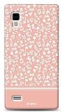 Dafoni LG Optimus L9 P760 Pink Flower K�l�f