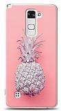 LG Stylus 2 / Stylus 2 Plus Pink Ananas Kılıf