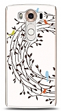 LG V10 Bird Circle Kılıf