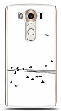 LG V10 Flying Birds Kılıf