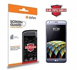 Dafoni LG X cam Slim Triple Shield Ekran Koruyucu