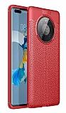 Dafoni Liquid Shield Huawei Mate 40 Pro Ultra Koruma Kırmızı Kılıf