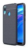 Dafoni Liquid Shield Huawei Y7 Prime 2019 Lacivert Silikon Kılıf