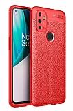 Dafoni Liquid Shield OnePlus Nord N100 Ultra Koruma Kırmızı Kılıf
